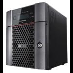 Buffalo TeraStation WS5420DN Ethernet LAN Desktop Black NAS