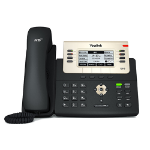 Yealink SIP-T27G IP phone Black, Gold 8 lines LCD