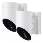 Somfy Outdoor camera Duo Pack White