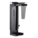 Newstar Swivel Under Desk & On-Wall PC Mount (Suitable PC Dimensions - Height: 30-53 cm / Width: 9-20 cm) - Black