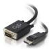 C2G 84331 adaptador de cable de vídeo 1 m DisplayPort VGA (D-Sub) Negro