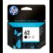 HP Cartucho de tinta original 62 negro