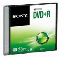 Sony DPR47SS 4.7GB DVD+R 1pc(s) blank DVD