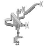 """Tripp Lite DDR1730TAL monitor mount / stand 30"""" Clamp/Bolt-through Silver"""