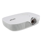 Acer Travel K138ST data projector 800 ANSI lumens DLP WXGA (1280x800) 3D Desktop projector White
