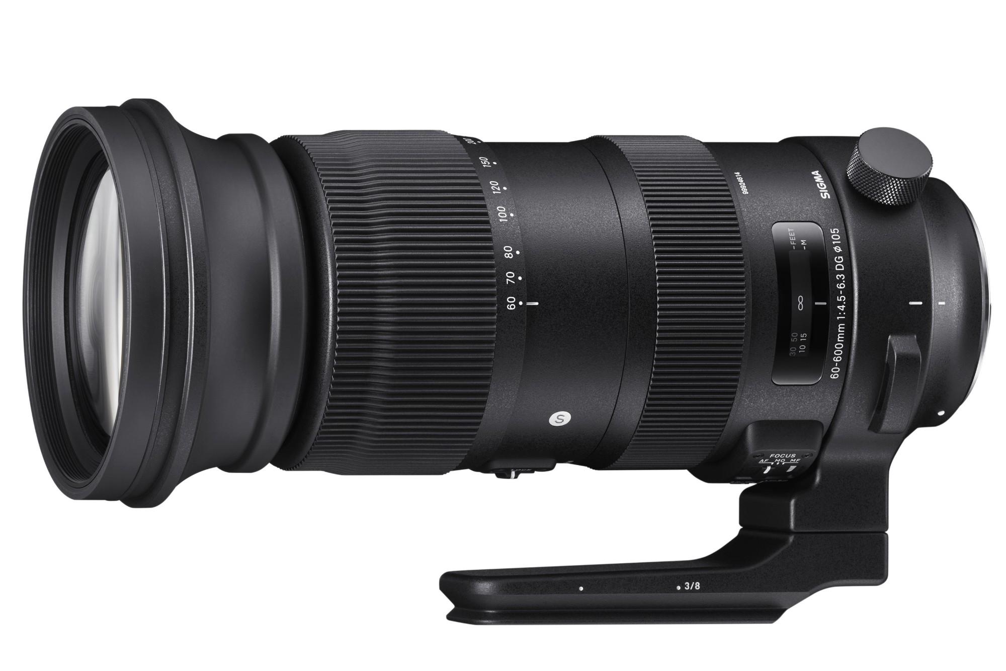 Sigma 60-600mm f/4.5-6.3 DG OS HSM Sport Telephoto Zoom Lens Nikon Fit