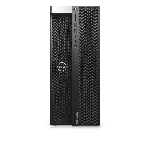 DELL Precision 5820 DDR4-SDRAM i9-10920X Tower Intel® Core™ i9 X-series 16 GB 512 GB SSD Windows 10 Pro Workstation Black