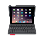 Logitech Type+ Bluetooth QWERTY Spanish Black mobile device keyboard