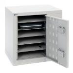 Loxit 6986 portable device management cart/cabinet Portable device management cabinet Grey