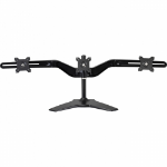 "Amer AMR3S flat panel desk mount 61 cm (24"") Freestanding Black"