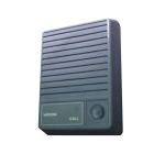 Valcom V-1074 audio intercom system Grey
