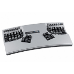 Kinesis Advantage2 Silver keyboard USB QWERTY Black