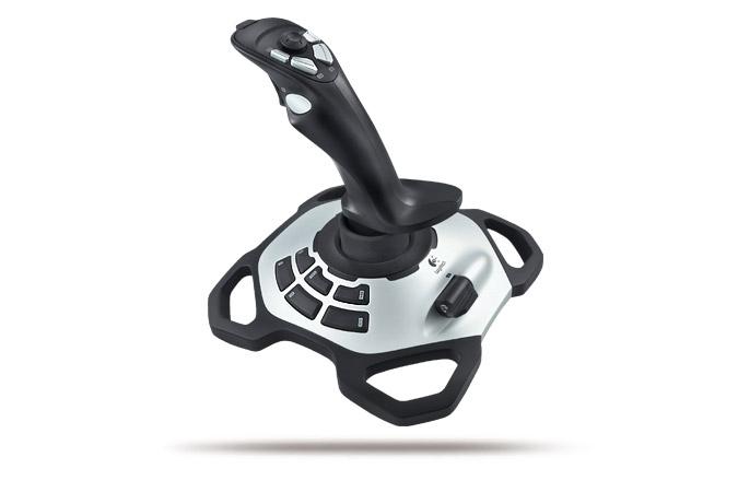 Logitech 942-000008 Joystick Black gaming controller