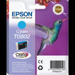 Epson Hummingbird T0802 Original Cyan 1 Stück(e)