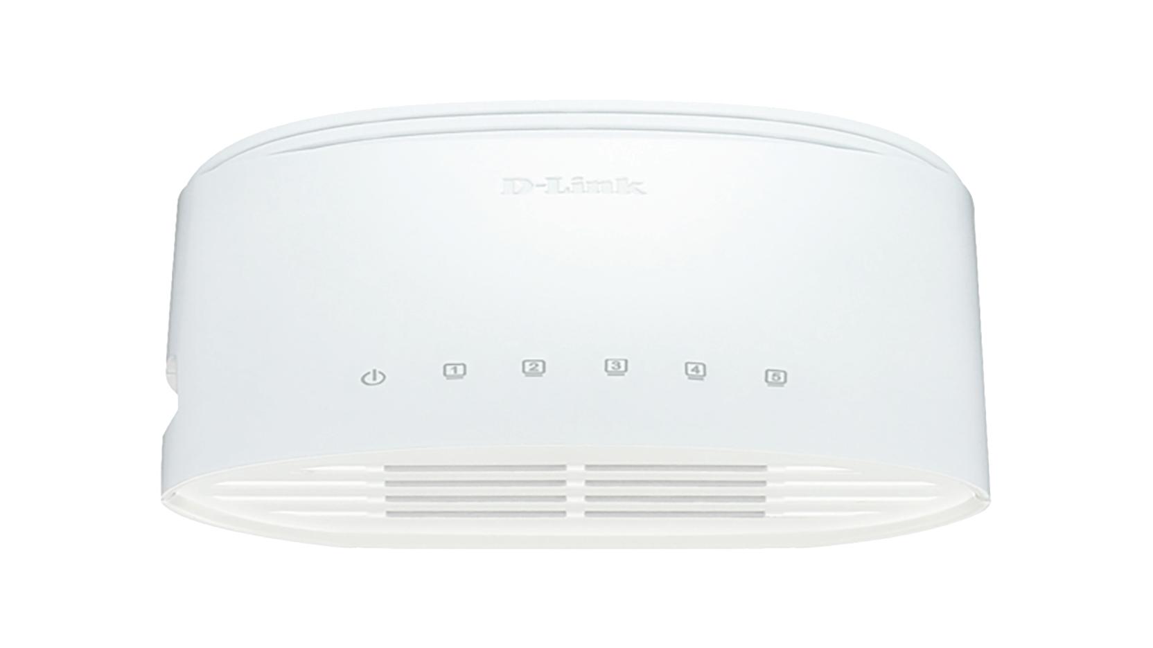 D-Link DGS-1005D/E switch No administrado L2 Gigabit Ethernet (10/100/1000) Blanco