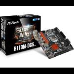 Asrock H110M-DGS R3.0 LGA 1151 (Socket H4) Intel® H110 Micro ATX
