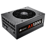 Corsair AX1200i 1200W ATX ATX, EPS, PCI-E, SATA Black power supply unit
