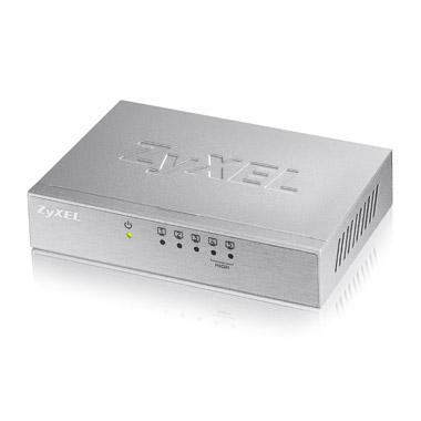 ZyXEL ES 105Av3 Unmanaged Fast Ethernet (10/100) Silver