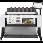 HP Designjet T2600 Grossformatdrucker Thermal Inkjet Farbe 2400 x 1200 DPI A0 (841 x 1189 mm) Eingebauter Ethernet-Anschluss