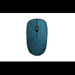 Rapoo 3510 Plus RF Wireless Optical 1000DPI Ambidextrous Black, Blue mice