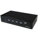 StarTech.com SV431HDU3A2 KVM switch Rack mounting Black