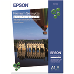Epson Premium Semi-Gloss Photo Paper - A4 - 20 Sheets