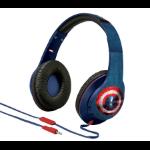 KIDdesigns VIM40CWFXV6 Blue,Red Circumaural Head-band headphone