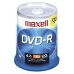 Maxell DVD-R 4.7GB DVD-R 100pcs
