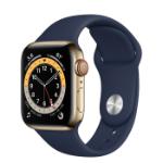 Apple Watch Series 6 40 mm OLED 4G Gold GPS (satellite)