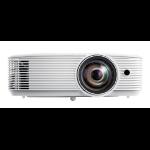 Optoma W318STe videoproyector 3800 lúmenes ANSI DLP WXGA (1280x800) 3D Proyector para escritorio Blanco