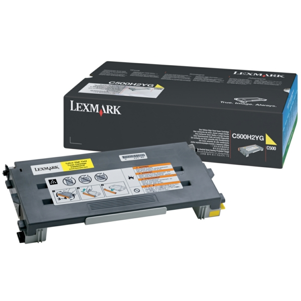 Lexmark C500H2YG Toner yellow, 3K pages @ 5% coverage