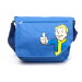 FALLOUT 4 Vault Boy Thumbs Up Cover Messenger Bag, One Size, Blue (MB240005FOT)