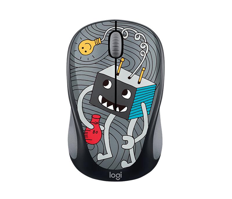 Logitech Lightbulb RF Wireless Optical 1000DPI Ambidextrous Multi mice