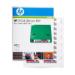 Hewlett Packard Enterprise Q2009A bar code label
