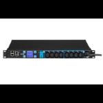 Eaton EMAH28 power distribution unit (PDU) 8 AC outlet(s) 1U Black