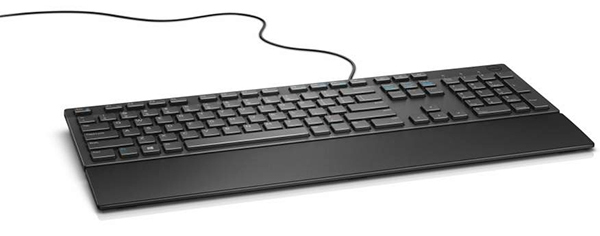 DELL KB216 keyboard USB QWERTY English Black