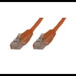 Microconnect UTP6004O 0.4m Cat6 U/UTP (UTP) Orange networking cable