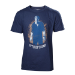 UNCHARTED 4 A Thief's End Men's Boxcover T-Shirt, Small, Multi-colour (TS302041UNC-S)