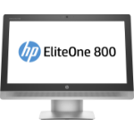 "HP EliteOne 800 G2 58.4 cm (23"") 1920 x 1080 pixels 6th gen Intel® Core™ i5 4 GB DDR4-SDRAM 500 GB HDD Windows 7 Professional All-in-One PC Silver"