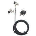 Targus Defcon cable lock Grey