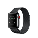 Apple Watch Series 3 smartwatch Black OLED Cellular GPS (satellite)