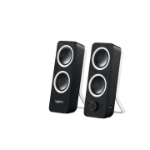 Logitech Z200 loudspeaker 10 W Black Wired 3.5 mm