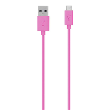 Micro USB Cable Pink
