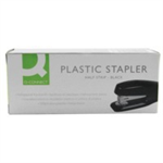 Q-CONNECT Q CONNECT STAPLER PLASTIC HALF STRIP BLK