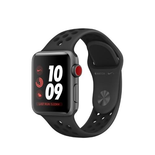 Apple Watch Nike+ smartwatch Grey OLED Cellular GPS (satellite)