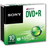 Sony DVD+R 16X SLIM CASE
