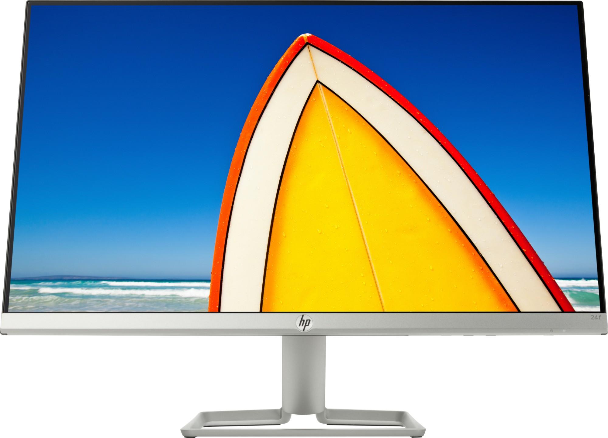 """HP 24f LED display 60.5 cm (23.8"""") 1920 x 1080 pixels Full HD Flat Silver"""
