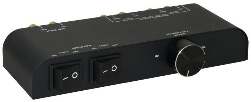 Microconnect MC-GEN-270 audio switch Black