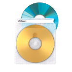 Fellowes 90661 DVD case 2discs Transparent
