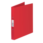 Rexel Budget 2 Ring Binder A4 Red